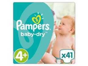 Pampers 4+ 41