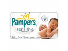 pampers sensitive baby wipes 56 pcs