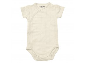 Romper Solid mt 68 Ivory 069 front