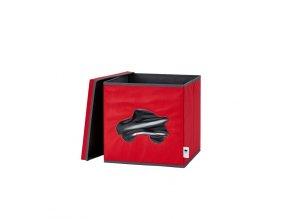 STORE IT Box na hračky s okénkem auto