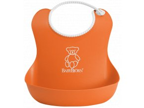 vyr 65soft bib orange 046270 babybjorn