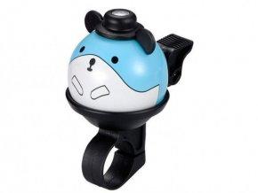 FirstBIKE Zvonek myš - modrý