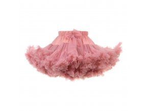 MANUFAKTURA FALBANEK Sukně Petti Skirt Coral Pink