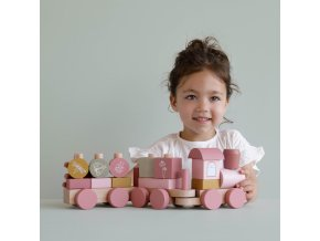 4416 wooden train adventure pink
