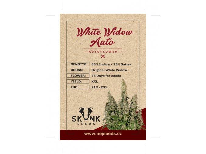 skunk seeds white widow auto