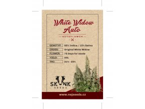 skunk seeds white widow auto