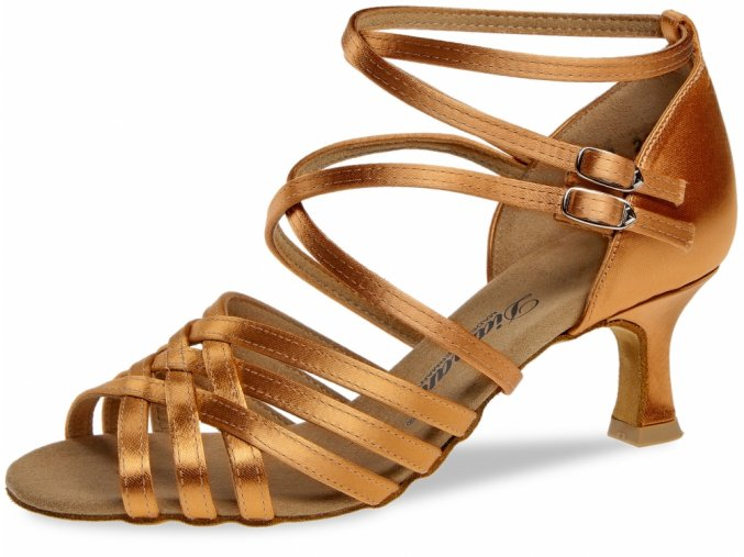 Taneční boty Diamant 108 tělová - 6,5 cm Flare
