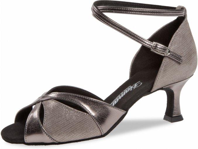 Taneční boty Diamant 141 bronzová - 5 cm Flare