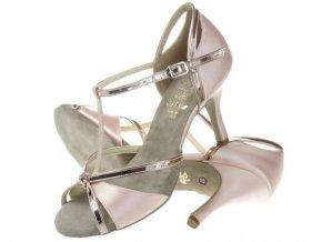 EU 37 Taneční boty Artis - DL 39 růžové zlato