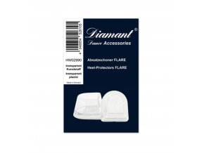 Chrániče Flare na podpatky Diamant Crystal Clear (pár)