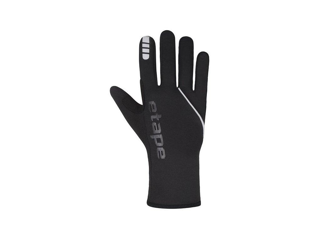Etape - pánské rukavice LAKE WS+, černá