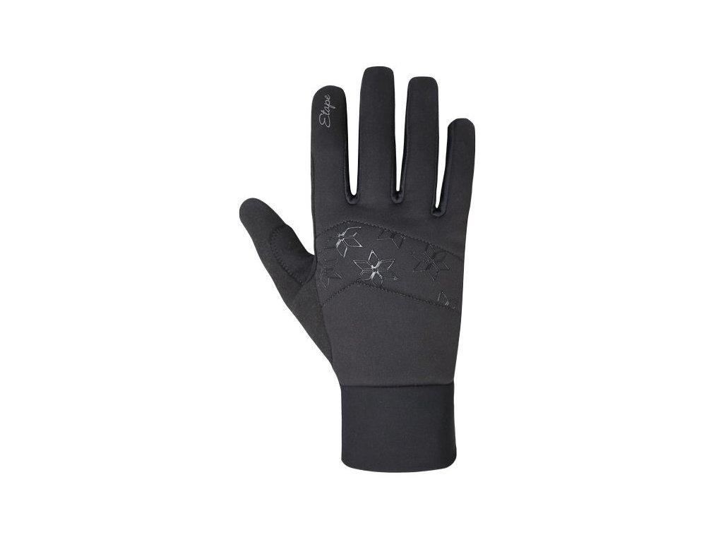 Etape - dámské rukavice JASMINE WS+, černá