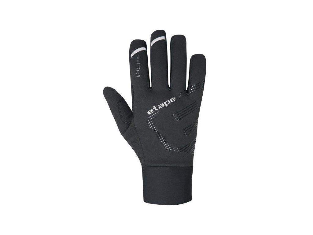 Etape - rukavice BREEZE WS+, černá/reflex