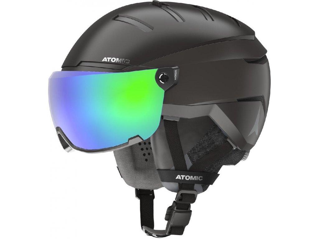 lyž.helma ATOMIC Savor GT amid visor HD bk 59-63cm