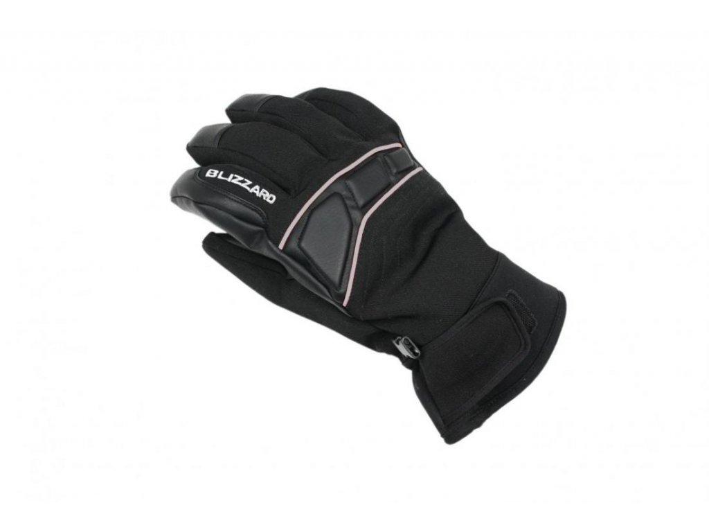 BLIZZARD Profi ski gloves, black/silver
