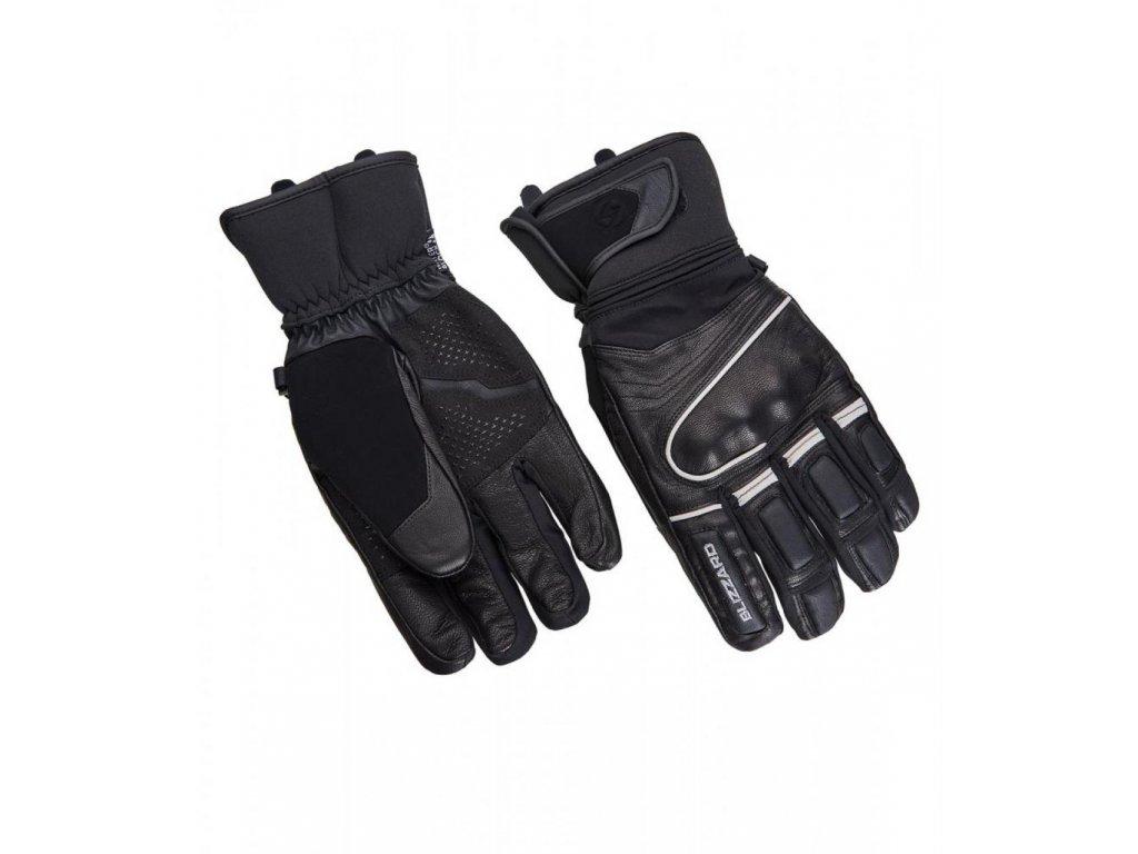 BLIZZARD Competition ski gloves, black/silver