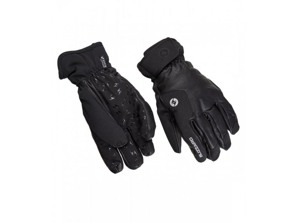 BLIZZARD Schnalstal ski gloves, black