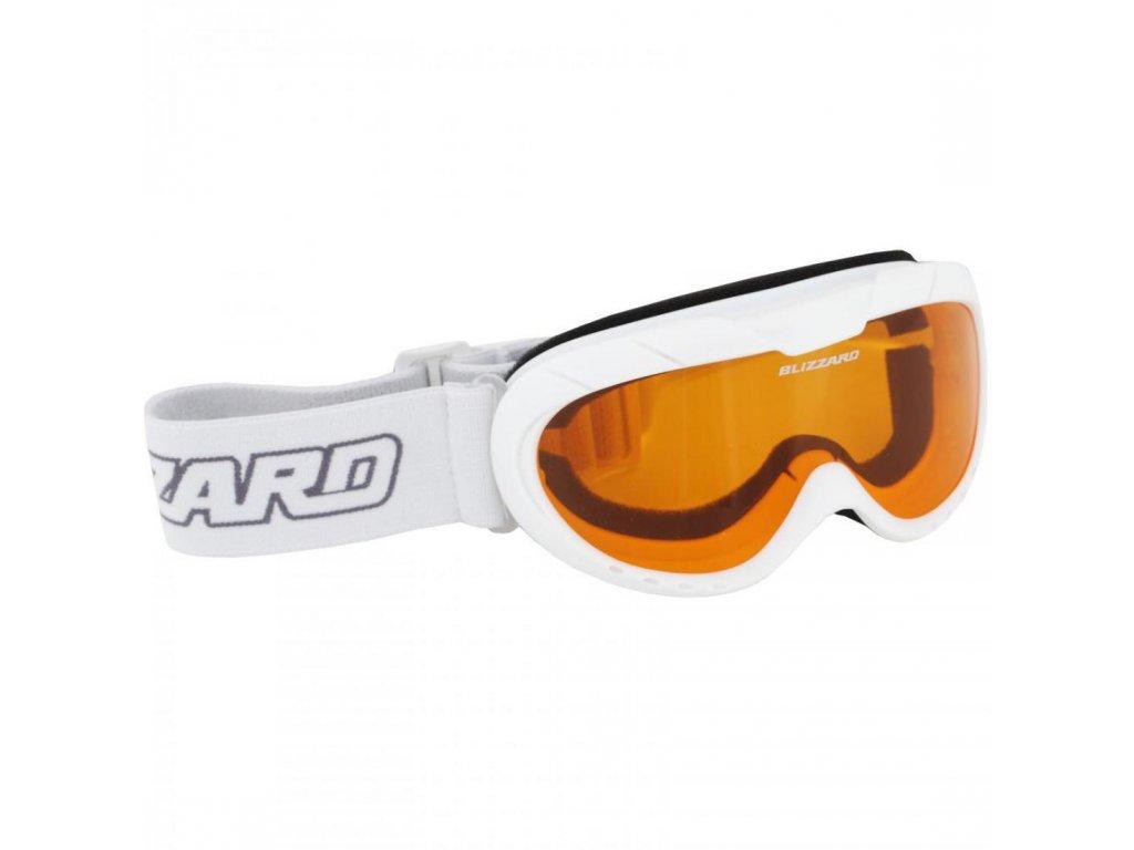BLIZZARD Ski Gog. 902 AO, white shiny, rosa1