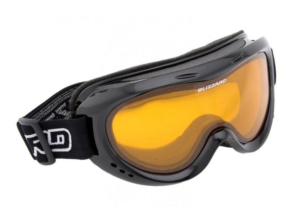 BLIZZARD Ski Gog. 907 DAO, black, amber1