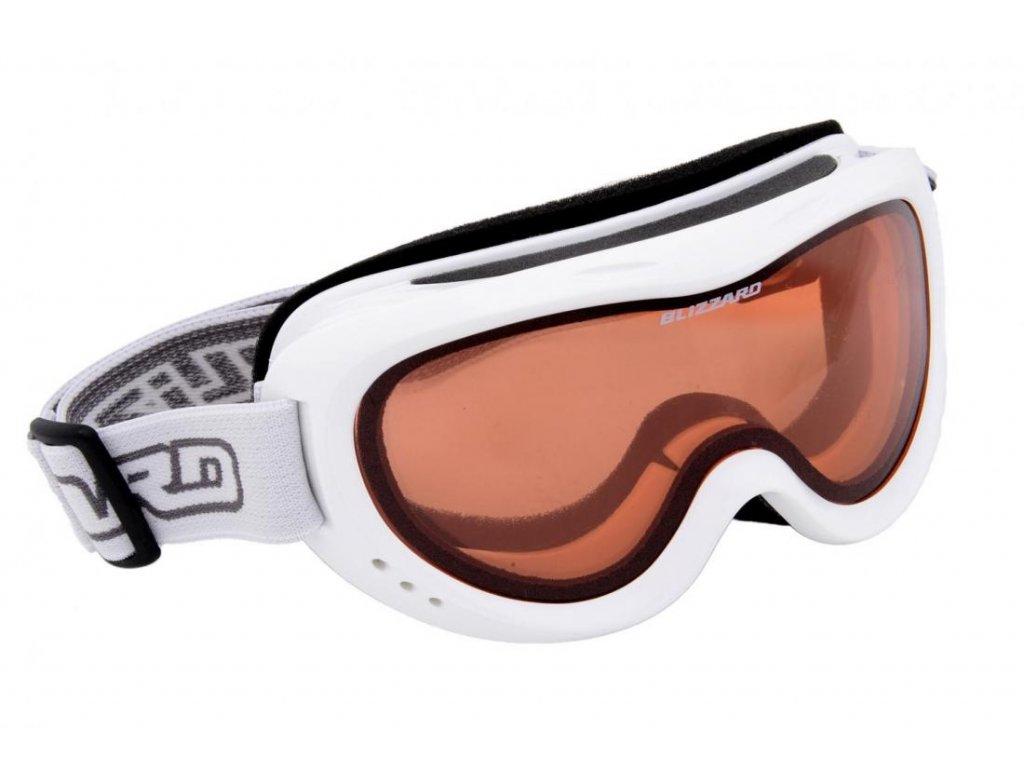 BLIZZARD Ski Gog. 907 DAO, white shiny, rosa1