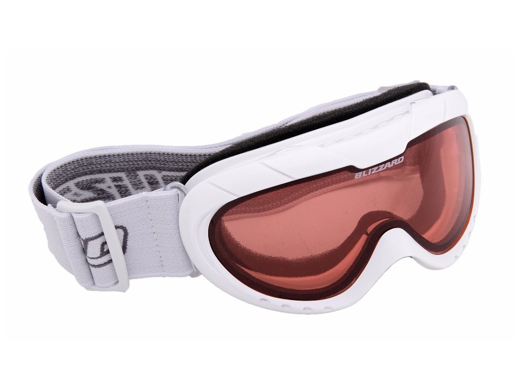 BLIZZARD Ski Gog. 902 DAO, white shiny, rosa1