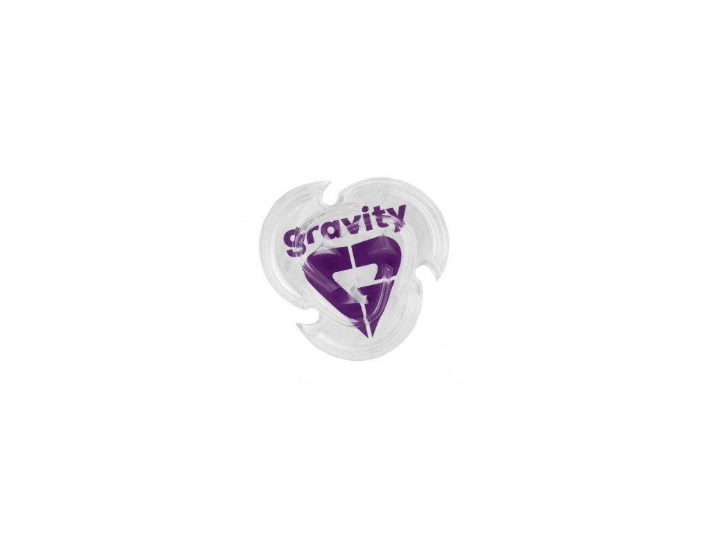 grip gravity heart clear violet 2