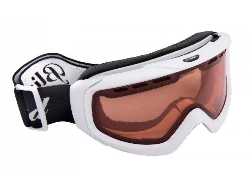 BLIZZARD Ski Gog. 906 DAV, white shiny, rosa1