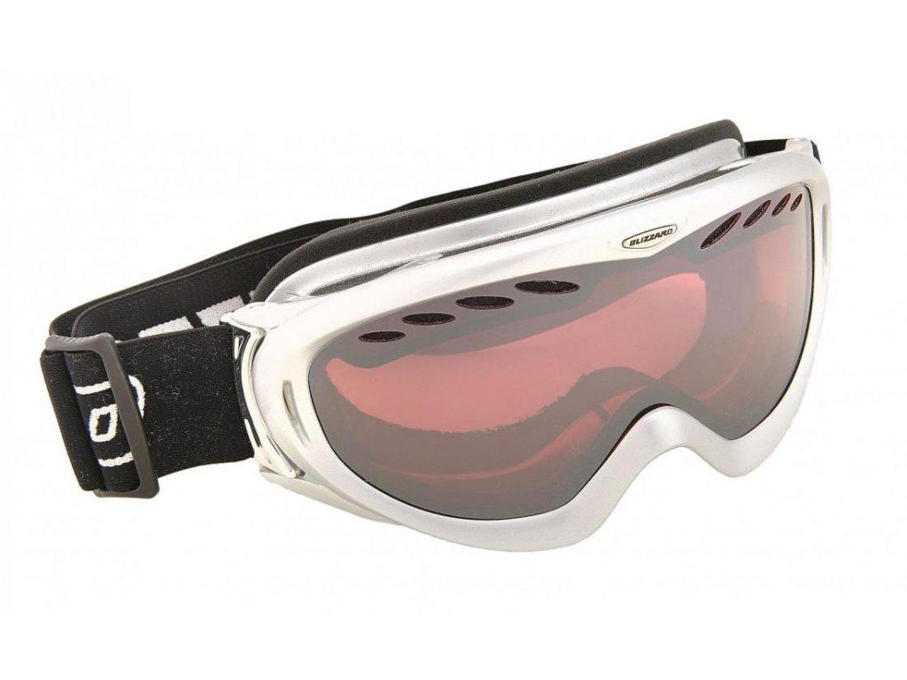 BLIZZARD Ski Gog. 905 MDAVZO, silver met., rosa2, silver mirror