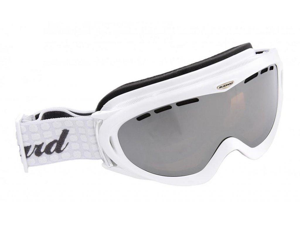 BLIZZARD Ski Gog. 905 LDAVZPO, extra white shiny, honey2, blue mir., polar