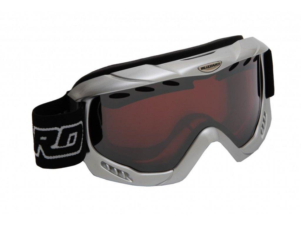 BLIZZARD Ski Gog. 911 MDAVZ, silver met., rosa2, silver mirror