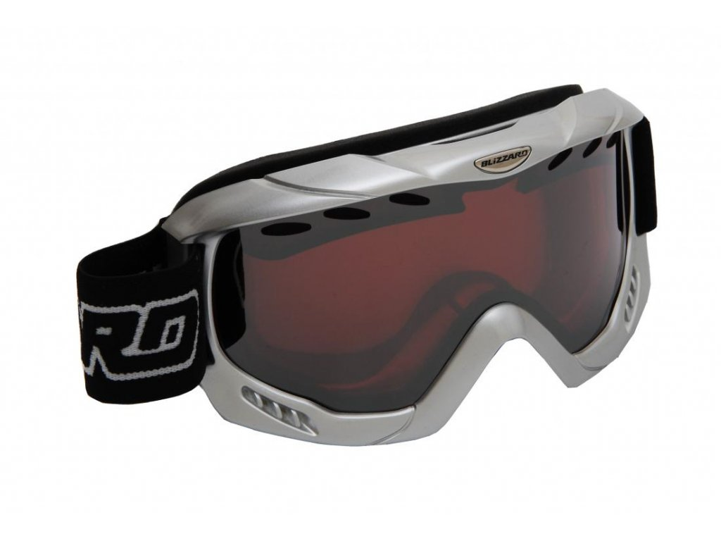 BLIZZARD Ski Gog. 911 MDAVZP, silver met., honey2, blue mir., polar