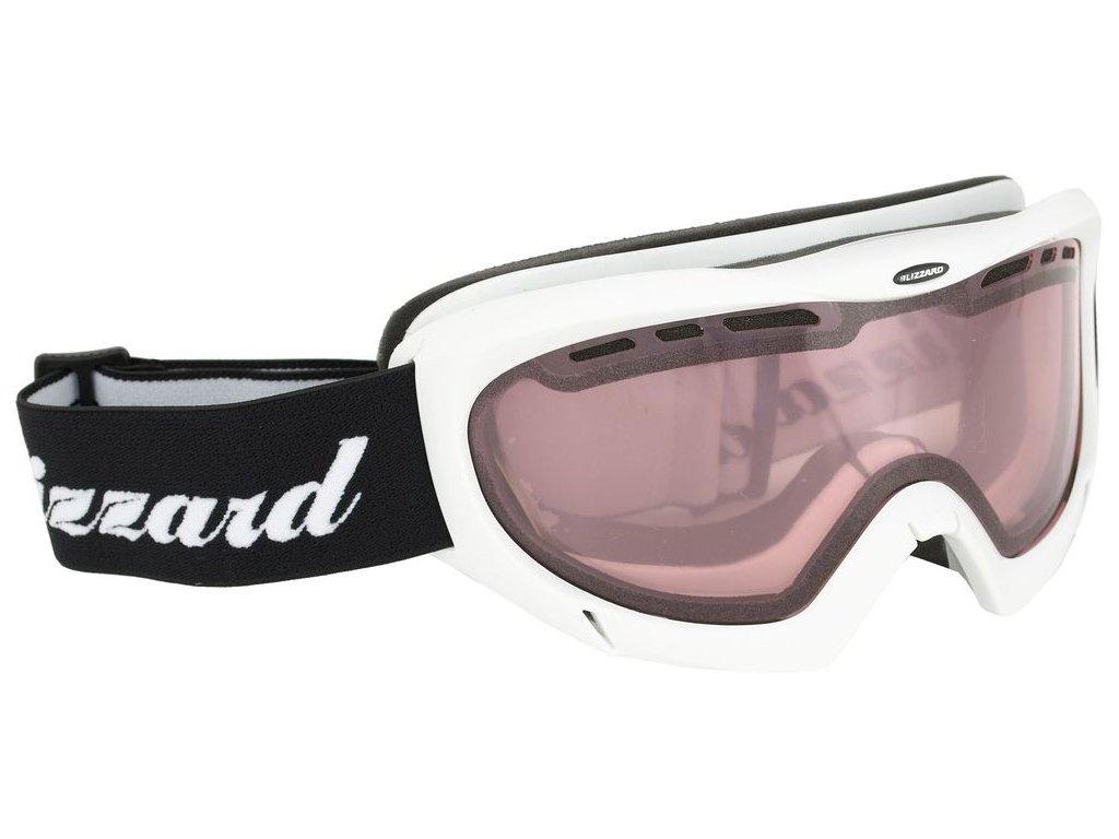 BLIZZARD Ski Gog. 912 DAV, white shiny, rosa1