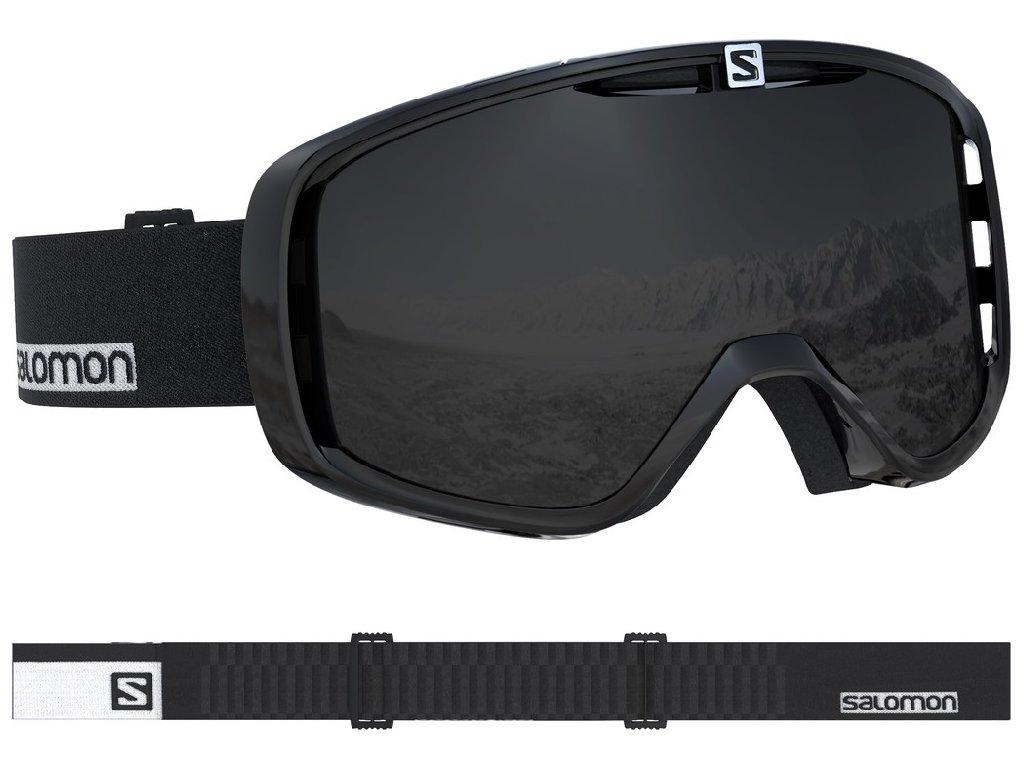 lyž.brýle SAL.Aksium black-white/solar black 18/19
