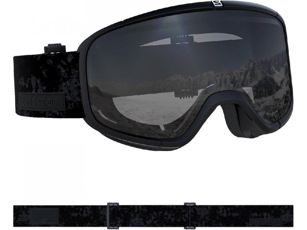 lyž.brýle SAL.Four Seven black/UNI mirror silver 1