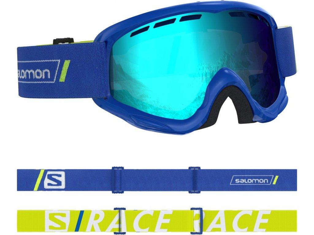 lyž.brýle SAL.Juke race blue/UNI mid blue 18/19