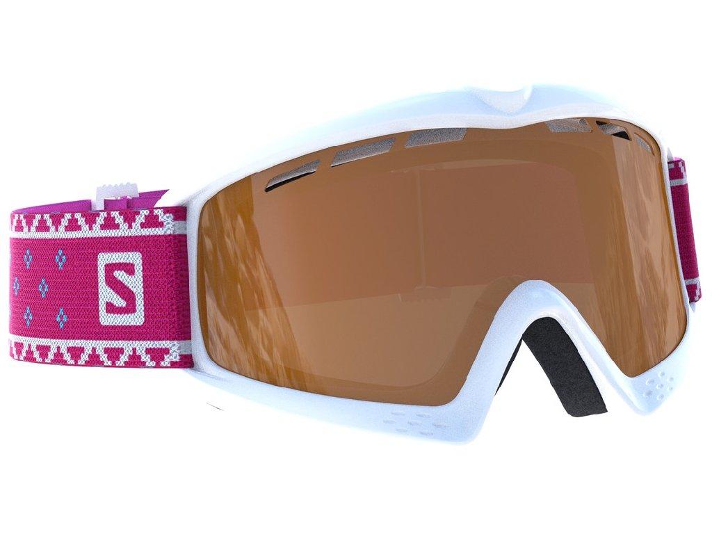 lyž.brýle SAL.Kiwi Access white/UNI t.orange 18/19