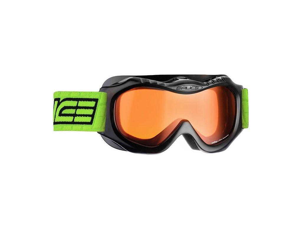 lyž.brýle SALICE 601DA dětské 3-7 let black/orange