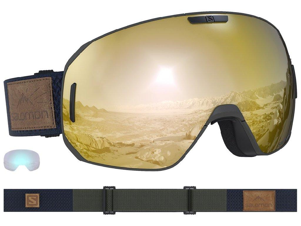 lyž.brýle SAL.S/MAX olive night/solar bronze 18/19