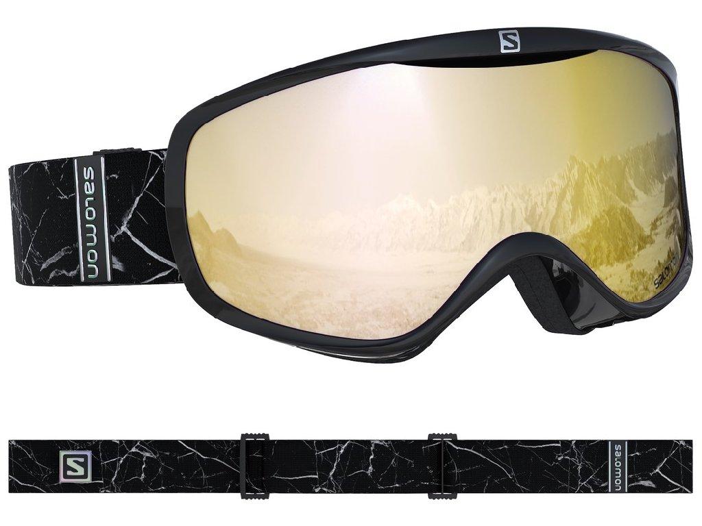 lyž.brýle SAL.Sense black marble/solar bronz 18/19