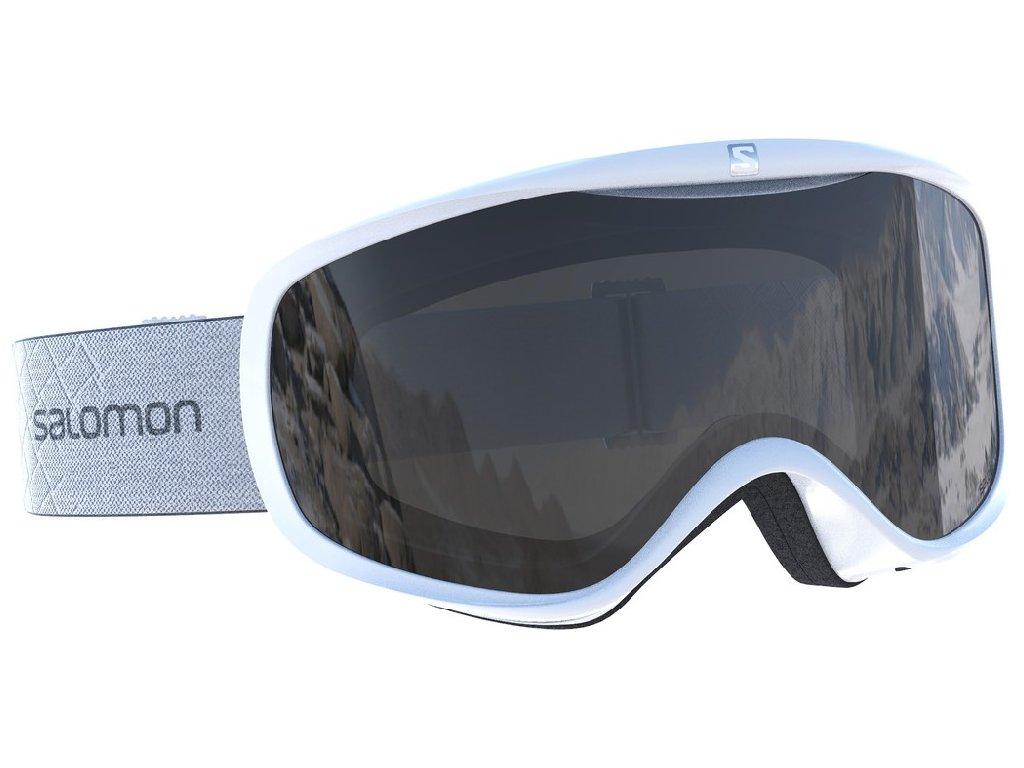 lyž.brýle SAL.Sense white/uni mirror silver