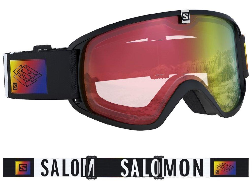 lyž.brýle SAL.Trigger photo black collab/aw red 18