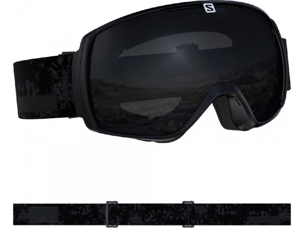 lyž.brýle SAL.XT ONE black/solar black 19/20