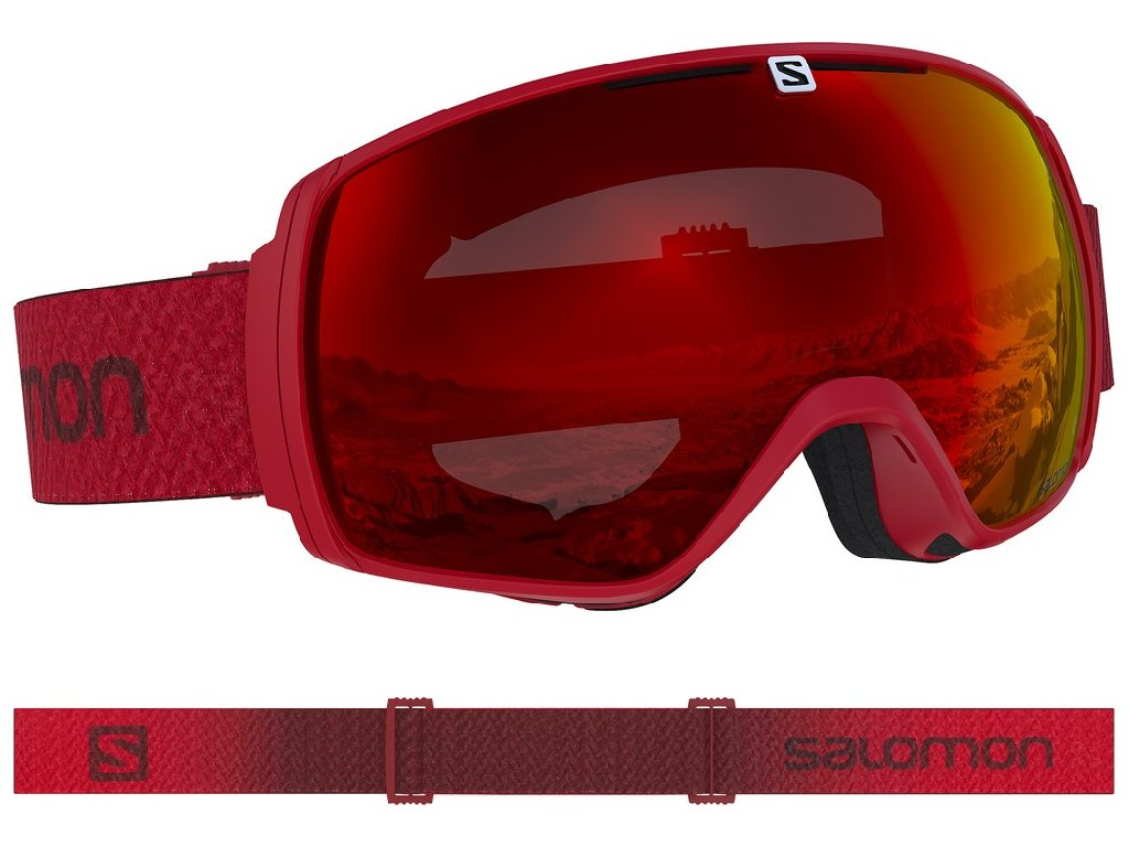 lyž.brýle SAL.XT ONE matador/UNI mid red 18/19
