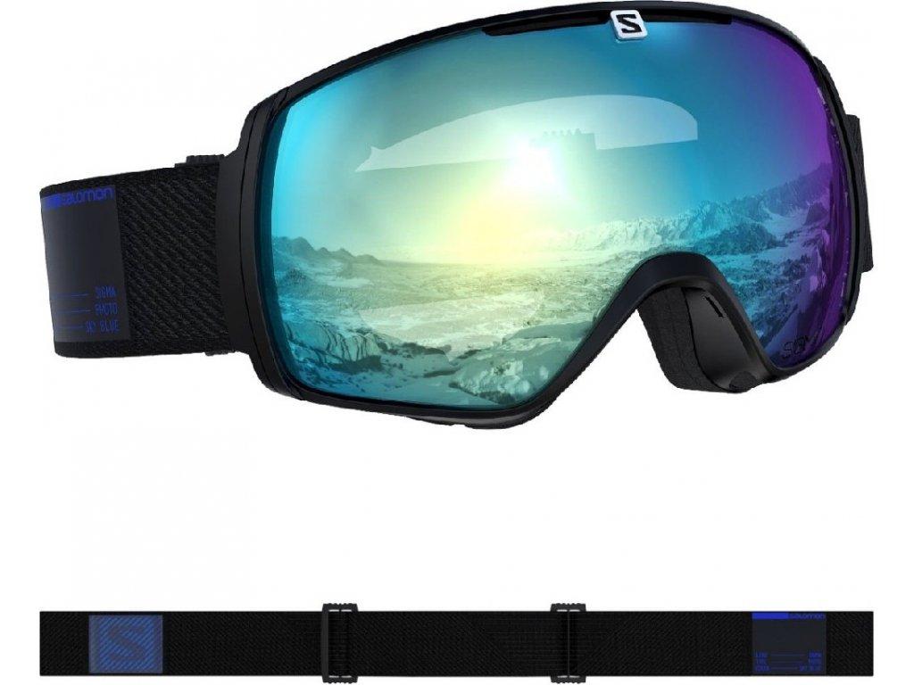 lyž.brýle SAL.XT ONE photo sigma black/AW sky blue