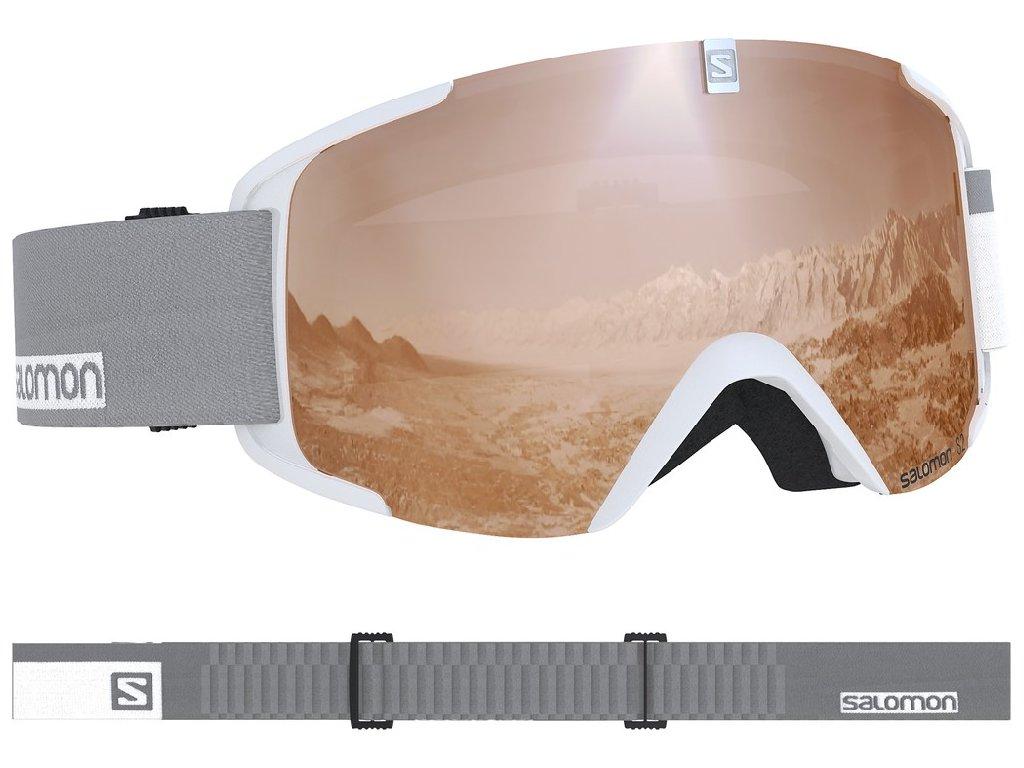 lyž.brýle SAL.XVIEW access white/UNI t.orange 18/1