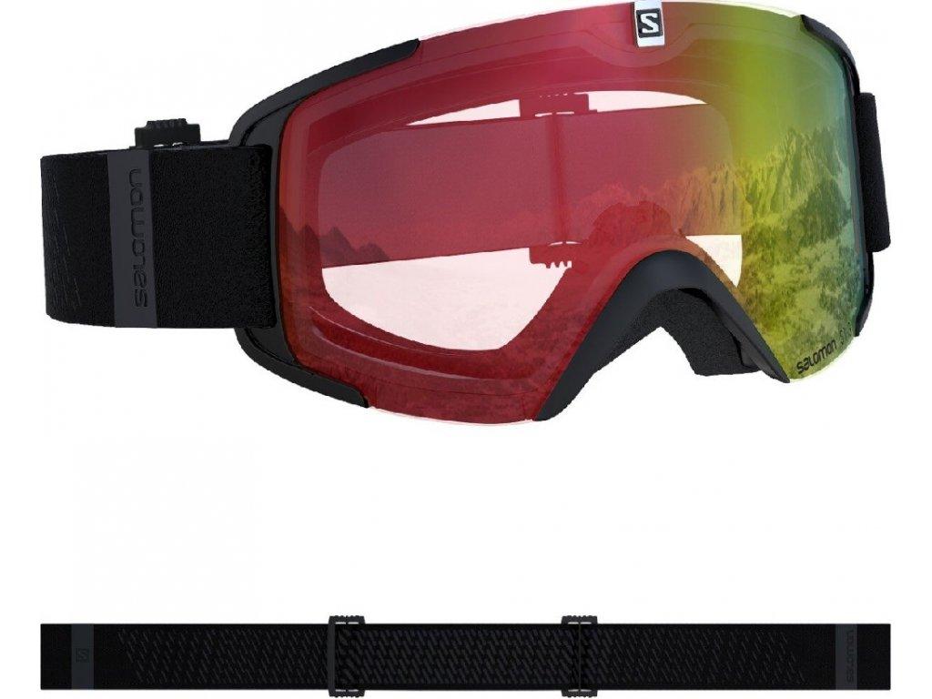 lyž.brýle SAL.XVIEW photo black/AW red 19/20