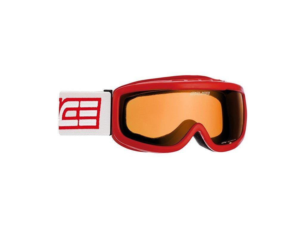 lyž.brýle SALICE 778A Jr. 6-10 let red/orange