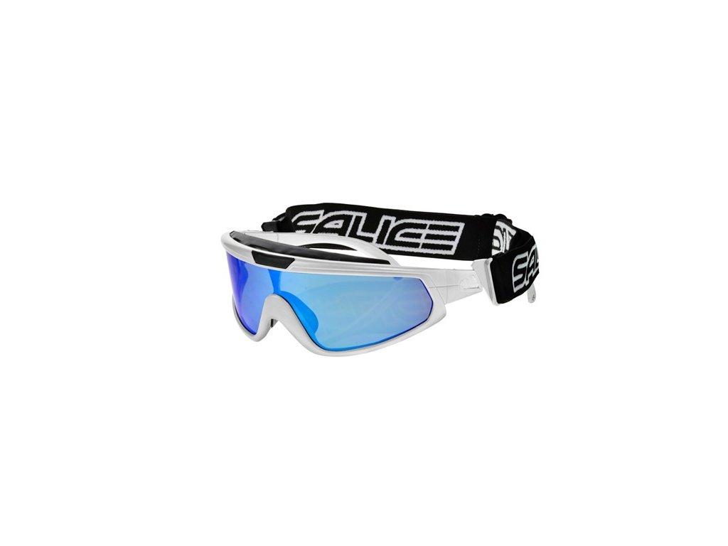 lyž.brýle SALICE běžecké 915RW white/RW blue