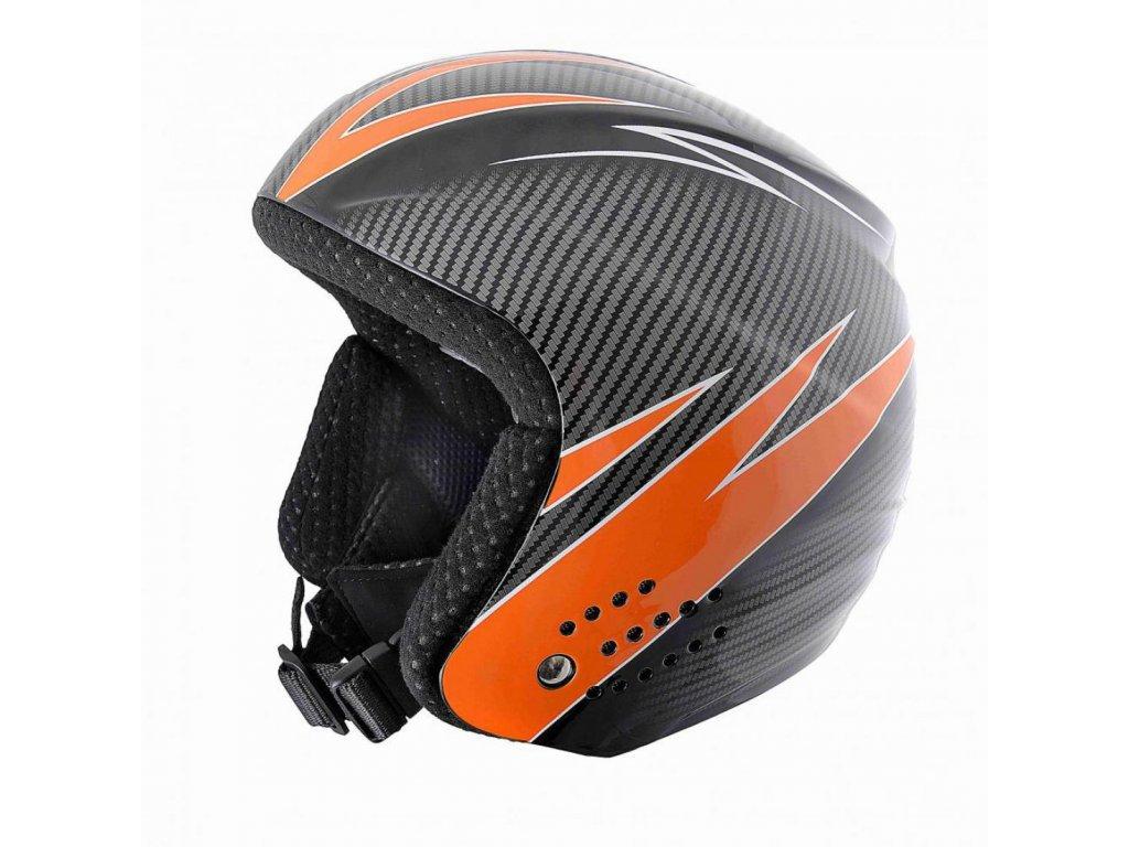 BLIZZARD Race ski helmet junior, carbon orange
