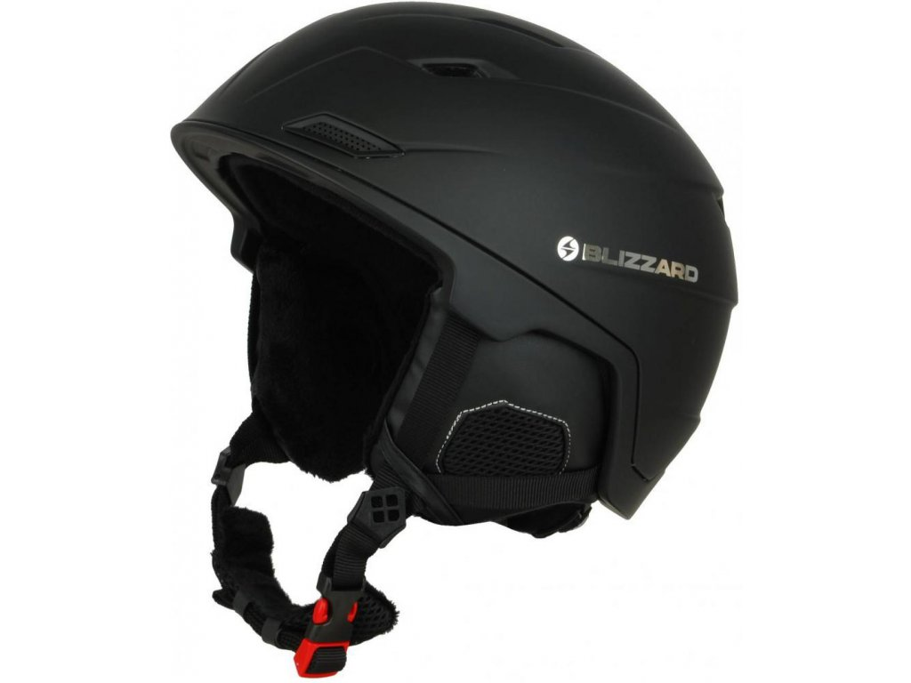BLIZZARD Double ski helmet, black matt